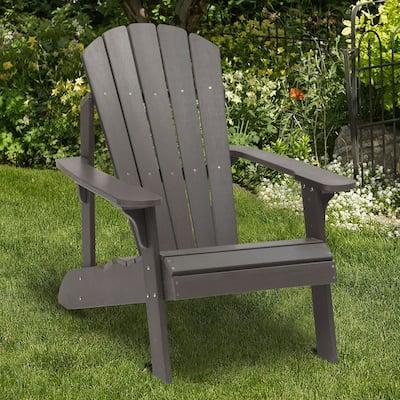 Bonosuki Faux Wood Outdoor Adirondack Chair