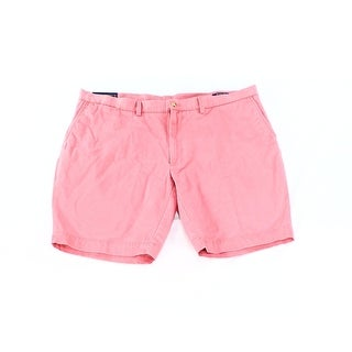 Polo Ralph Lauren NEW Pink Men's Size 42 Stretch Flat-Front Chino Shorts