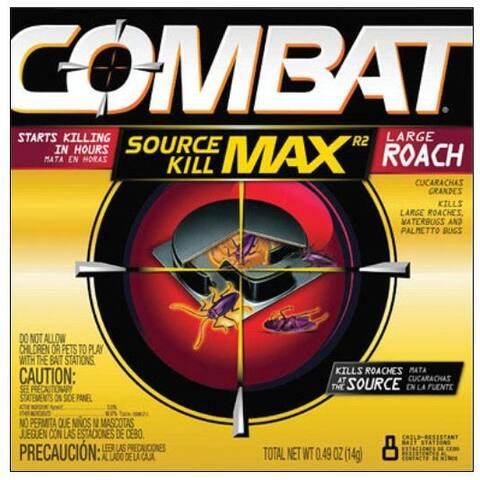 Combat 51913 Quick Kill Large Roach Formula