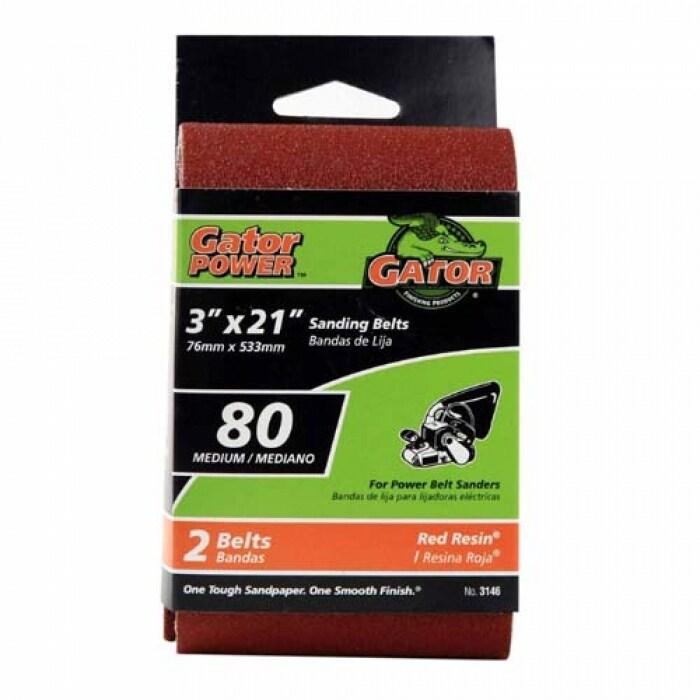Gator  Aluminum Oxide  Sanding Sponge  3 in W x 5 in L Coarse  60 Grit 3 pk