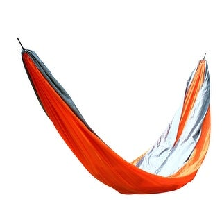 Konoo Authorized Courtyard Swing Sleeping Bed Hanging Double Hammock Gray Red