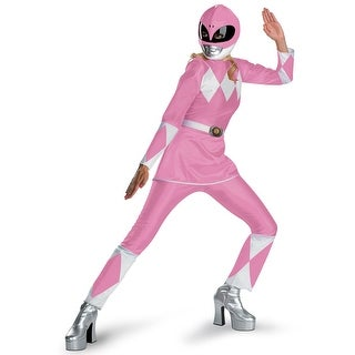 Adult Pink Power Ranger Costume