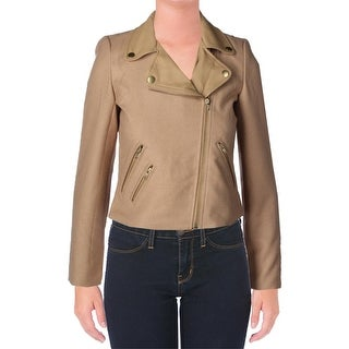 XOXO Womens Juniors Jacket Long Sleeves Solid - S