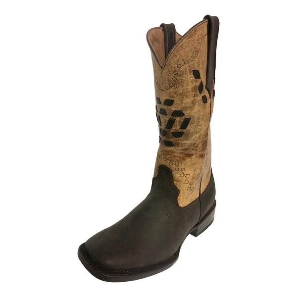 f004c9636dc Ferrini Western Boots Womens Bandita On Dark Chocolate