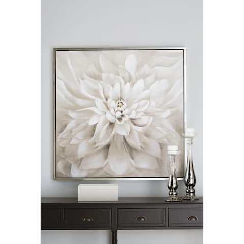 """Jalisa Contemporary Taupe Wall Art - 39.37"""" W x 1.5"""" D x 39.37"""" H"""