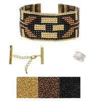 Refill - Deco Metallics Loom Bracelet - Exclusive Beadaholique Jewelry Kit