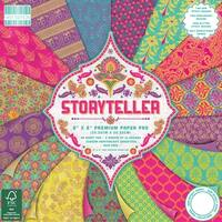 "First Edition Premium Paper Pad 8""X8"" 48/Pkg-Storyteller, 16 Designs/3 Each"