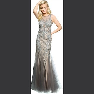 Grey Evening & Formal Dresses - Overstock.com Shopping - Designer ...