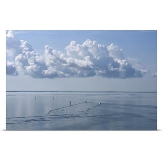 Poster Print entitled Calm waters in the Gulf of Mexico