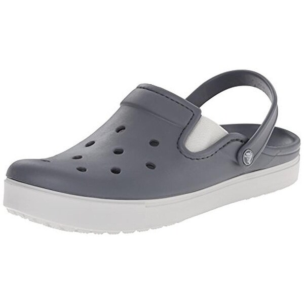 Crocs Mens Citilane Clogs Perforated Relaxed Fit