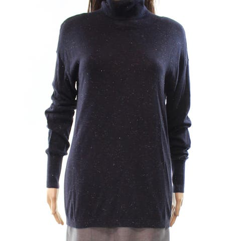 Chelsea28 Womens Small Cut-Out Back Turtleneck Sweater