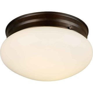 Forte Lighting 6002-01 Functional Flushmount Ceiling Fixture from the Close to Ceiling Collection