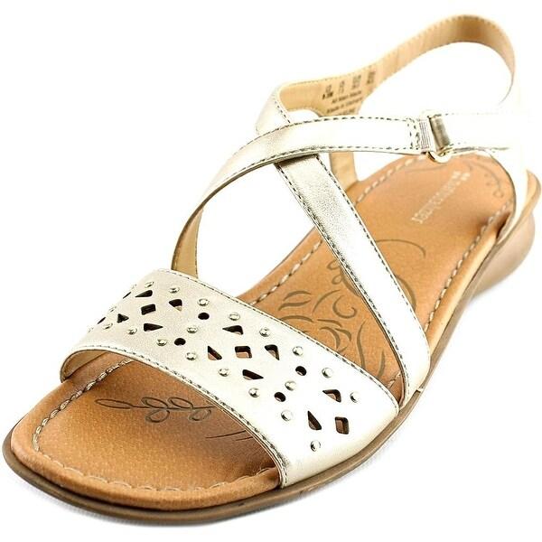 Naturalizer Womens Jaqueline Open Toe Casual Slide Sandals