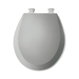 Bemis 500EC Round Closed-Front Toilet Seat and Lid with Easy-Clean & Change Technology