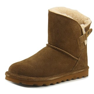 Bearpaw Margaery   Round Toe Suede  Snow Boot