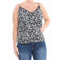 8f375f8404f267 Shop Free People Black Womens Size Small S Lace-Up Floral Tank Top ...