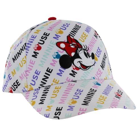 Disney Minnie Mouse Color Block Adjustable Hat