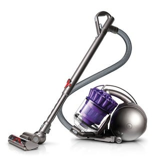 Refurbished Dyson DC39 Multi Floor Bagless Canister Vacuum: Purple - purple and iron