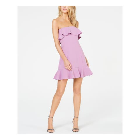 RACHEL ZOE Purple Sleeveless Short Dress 8