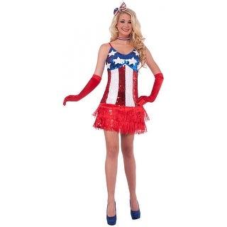 Patriotic Sparkle Flapper