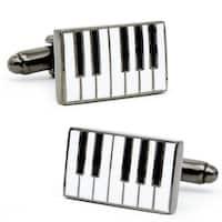 Enamel Piano Cufflinks