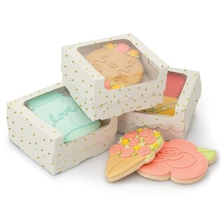 Sweet Sugarbelle Single Cookie Box-White W/Gold Dots https://ak1.ostkcdn.com/images/products/is/images/direct/4c9fe53dd8391d70dd23444b32e9a72bd75d6a0a/Sweet-Sugarbelle-Single-Cookie-Box-White-W-Gold-Dots.jpg?_ostk_perf_=percv&impolicy=medium