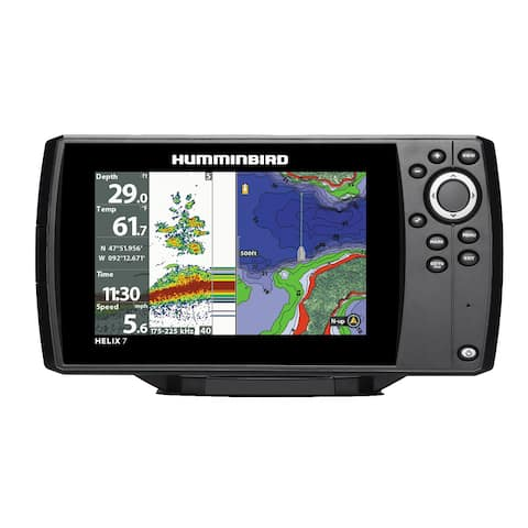 Humminbird Helix 7 Chirp GPS G2N 7 LED DualBeam PLUS Sonar Fishfinder 410320-1