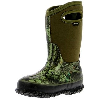 Bogs Boots Boys Classic Insulated Mossy Oak Waterproof Rubber 71650