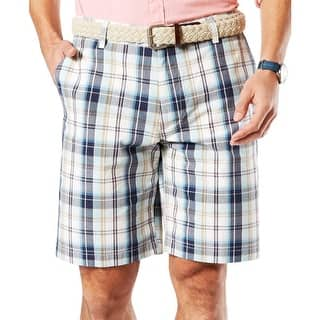 Dockers Mens Board, Surf Shorts Plaid Flat Front - 32|https://ak1.ostkcdn.com/images/products/is/images/direct/4ca623b9eb5dfc9fdb9b00e37c98e6fe0642c4c0/Dockers-Mens-Board%2C-Surf-Shorts-Plaid-Flat-Front.jpg?impolicy=medium