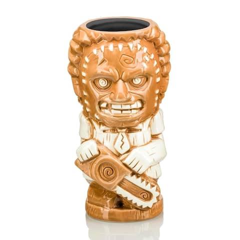 Texas Chainsaw Massacre Leatherface 26oz Geeki Tikis Ceramic Horror Mug - Brown