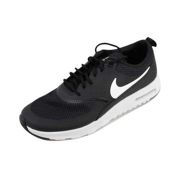 Shop Nike Women's Air Max Thea BlackSummit White 599409 020