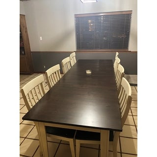 Simply Solid Tessa 13 Piece Solid Wood Dining Set On Sale Overstock 16120482