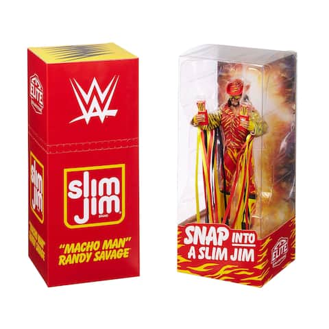 WWE Macho Man Randy Savage Elite Collection Action Figure - Convention Exclusive - Multi