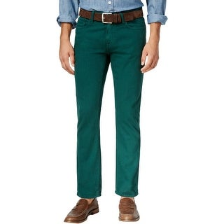 Tommy Hilfiger Mens Bootcut Jeans Denim Straight Fit