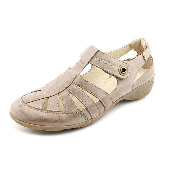 Blondo Begonia Women W Round Toe Leather Fisherman Sandal