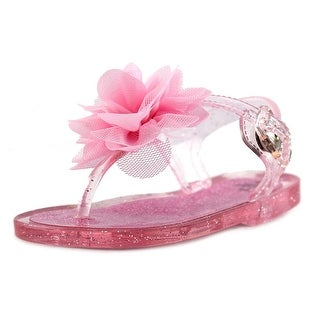Nursery Rhyme 915308 Infant Open Toe Synthetic Pink Thong Sandal