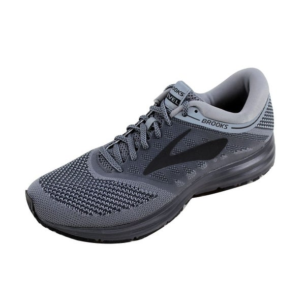 Brooks Men's Revel Grey/Ebony-Black 110260 1D 089