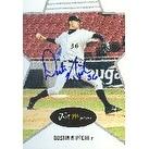 Dustin Nippert Arizona Diamondbacks 2003 Just Minors Autographed Card  This item comes with a certi