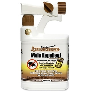 Liquid Fence HG-1666 Mole Repellent, 32 Oz, Ready-To-Use