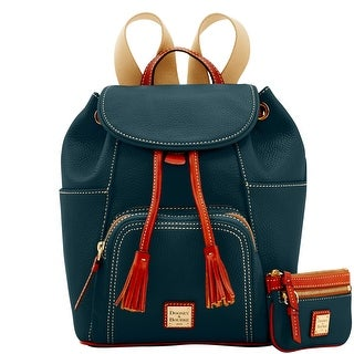 Dooney & Bourke Pebble Medium Backpack & Small Coin Case (Introduced by Dooney & Bourke at $348 in Sep 2017)