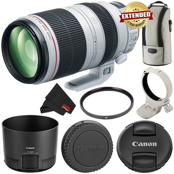 Canon EF 100-400mm f/4.5-5.6L IS II USM Lens (Intl Model) w/ 2 Year Extended Warranty