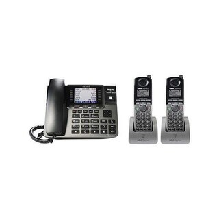 Unison Bundle with 2 Cordless Handsets, Black