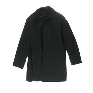 Calvin Klein Mens Solid Long Sleeves Coat