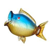 Dale Tiffany AS12326 Fish 9 Inch Tall Hand Blown Glass Decorative Figurine