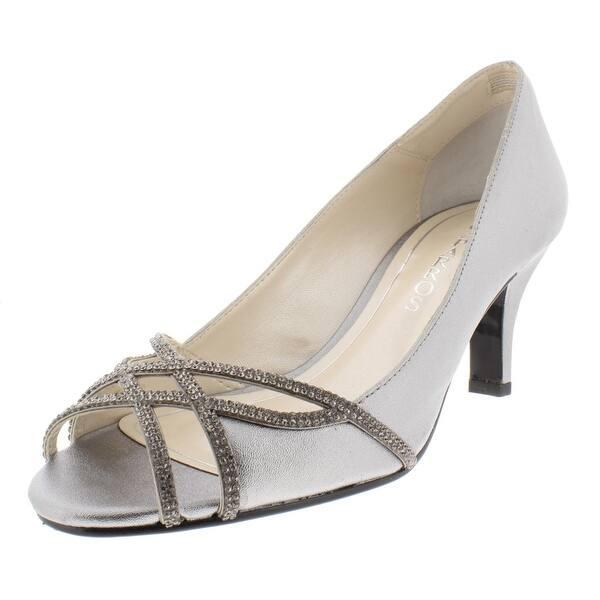 dfe6a4a93e9 Shop Caparros Womens Eliza Peep-Toe Heels Rhinestone - Free Shipping ...