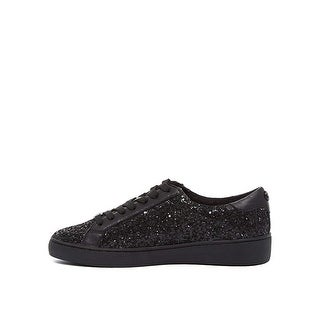 MICHAEL Michael Kors Womens irving Leather Low Top Lace Up Fashion Sneakers