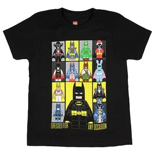 Lego Batman Boys' Dressed For Any Occasion Mini Figures T-Shirt