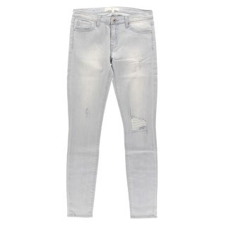 Dakota Collective Womens Khole Denim Distressed Skinny Jeans