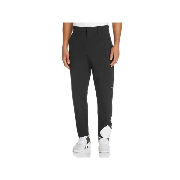 00acb30f48 Shop Adidas Mens Athletic Pants Mesh Lined Zip Pocket - M - Free ...
