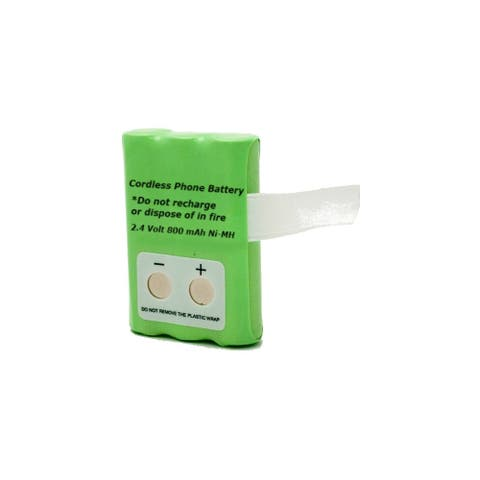Clarity C4230B Cordless Phone Battery - AAA - Nickel-Metal Hydride (NiMH) - 800mAh - 3.6V DC - Multicolor